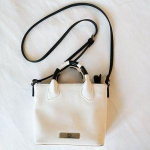 Liz Claiborne Chic Black and White Shoulder Bag